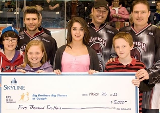 Skyline Auctions Guelph Storm Warm-up Jerseys; Proceeds go to Big Brothers Big Sisters of Guelph