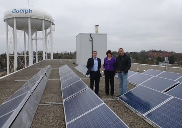 Mayor Farbridge Joins Skyline to Promote Solar Solutions for Earth Hour