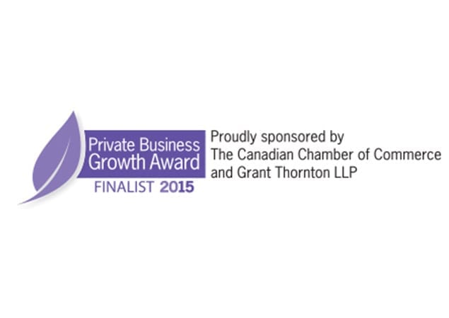 2015 Private Business Growth Award Logo