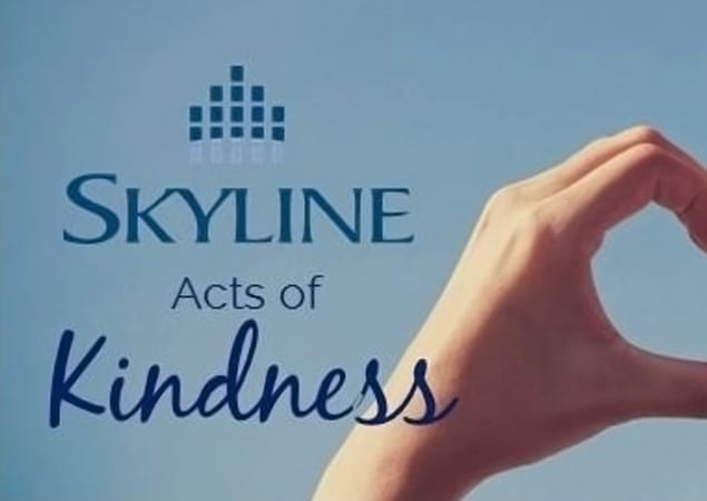 """""""Skyline Acts of Kindness"""" contest"""