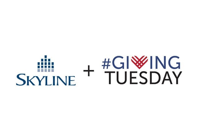 Skyline's Month of Giving