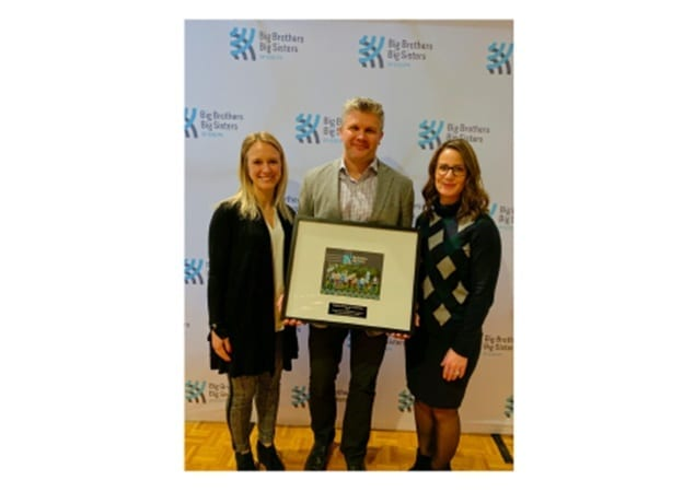 Skyline Receives Milestone Recognition from Big Brothers Big Sisters of Guelph
