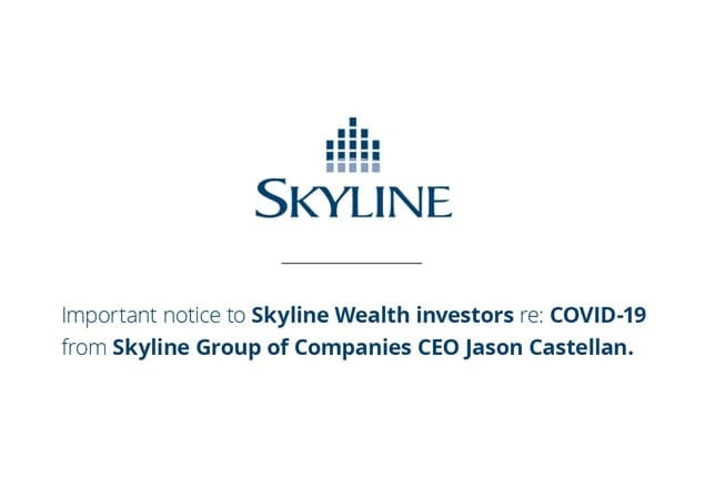 An Important Message to Skyline Wealth Investors Re: COVID-19