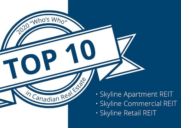 Top 10 in Canadian Real Estate Logo