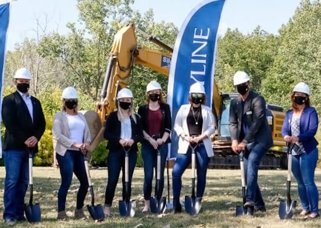 SkyDev Hosts Groundbreaking to Kick off Development of Lancaster Park in Welland, ON