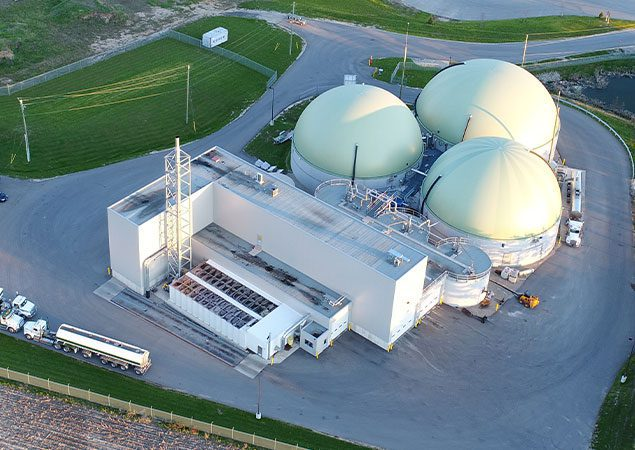 Skyline Clean Energy Fund Purchases Biogas Facility