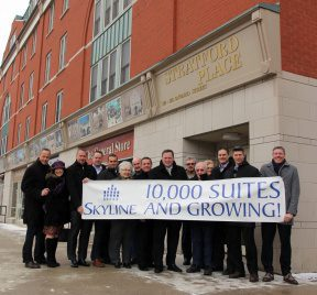 10,000 suites and growing!
